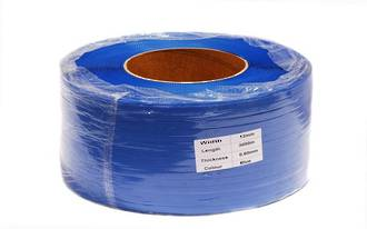 Poly Strapping RLB 12x3000m Blue Machine