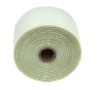 Polytubing 125Mu 400mm Natural 20kg Roll
