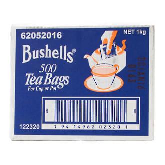 Teabags Bushells 500's