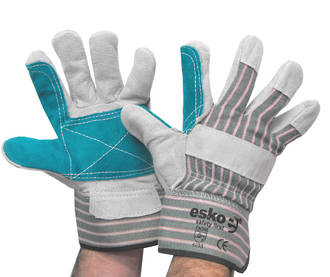 E260 Esko Rigger Double Palm HD Leather (One Size)