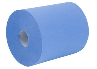 Paper Towel Pacific Centrefeed Blue 2 Ply 22cmx180m Ctn of 6
