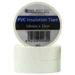 Insulation Tape  RLB 18x20m White Ctn of 24