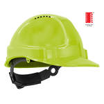 Hat Hard TN1-R Ratchet Harness Neon Yellow