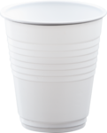 Plastic Cup (Hot) 195ml Ctn of 1000