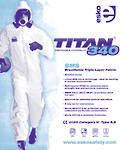 Coverall T340 Type 5,6  Sizes S-3XL