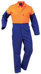 DOPPC Day Only Safety Overall Royal/Fluro Orange Sizes 4-16