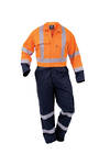 CTPCO Safety Overall Day Night Navy/Orange Sizes 4-16