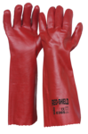 E365 Single Dipped Red PVC 450mm (One Size)