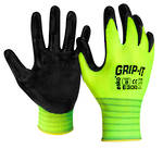 Glove E300 Grip-It Nitrile Palm/Cottonknit S-2XL