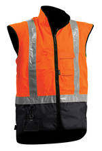 V17 Hi Viz Fleece Safety Vest S-8XL