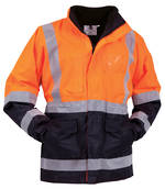 JNP5N1 Bison Safety Jacket S-8XL