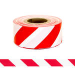 "Safety Barrier Tape ""Red/White Stripe 75x250m"